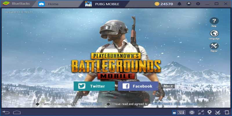 pubg mobile bluestacks