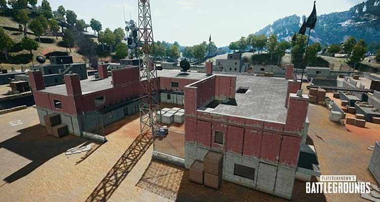 Bootcamp area on sanhok maps